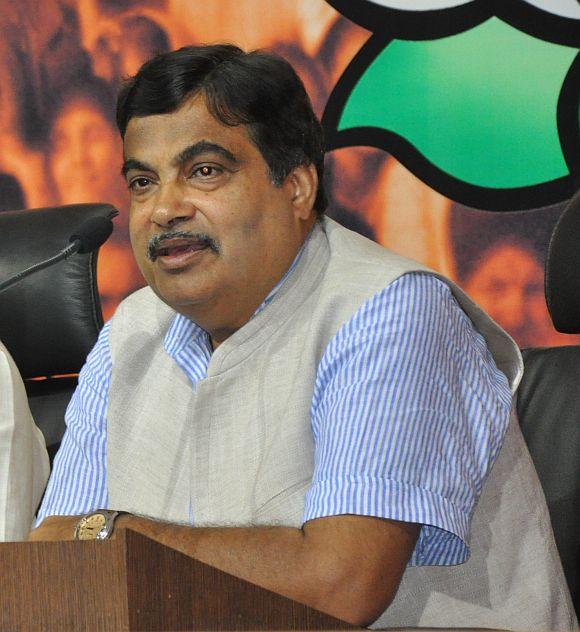 Former BJP chief Nitin Gadkari