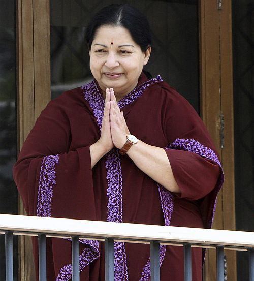 Tamil Nadu Chief Minister J Jayalalitha