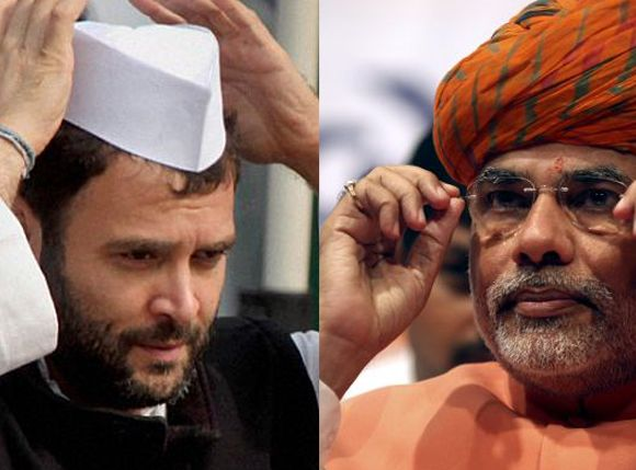 What if Modi vs Rahul battle was TODAY?
