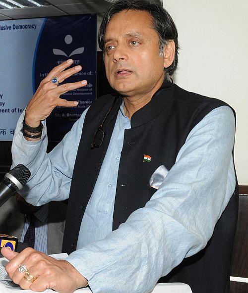 Union Minister Shashi Tharoor