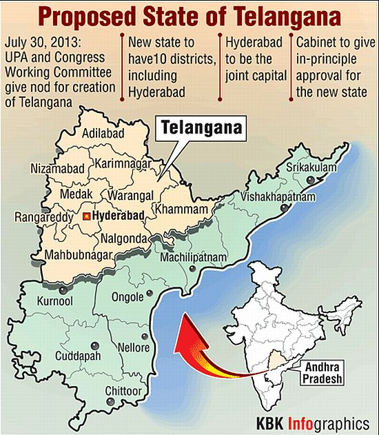 Meet Telangana, the 29th state of India