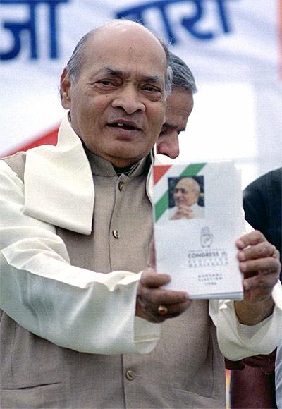 P V Narasimha Rao.