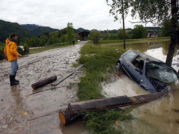 IMAGES: Worst flood in 70 years inundates central Europe
