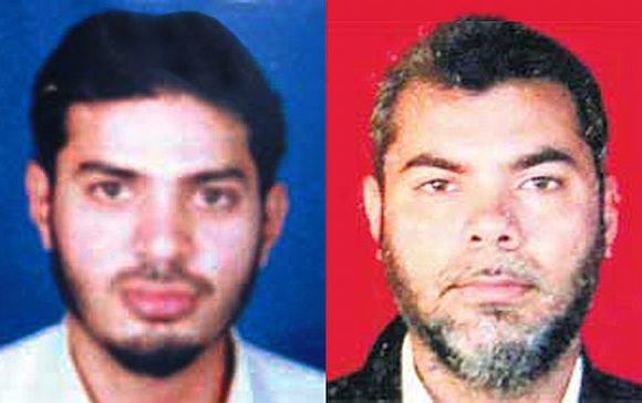 Yasin Bhatkal and his brother Riaz Bhatkal