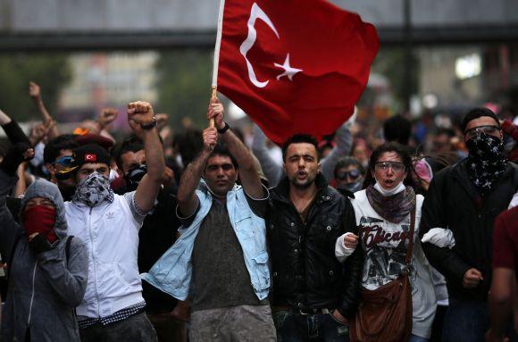 IN PIX: The crisis in Turkey