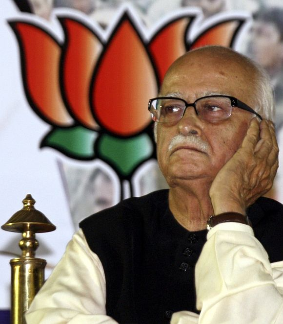 Advani was fighting a foregone decision