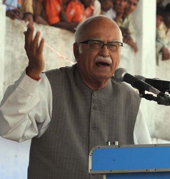 A day when nobody spared Advani