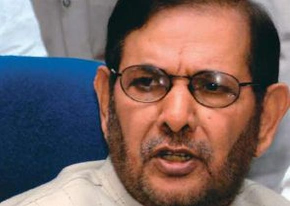 Deeply saddened by Advani's resignation, says JD-U president and NDA convenor Sharad Yadav.