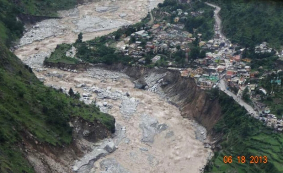 The floods in Uttarakhand