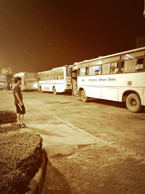 Buses to rishikesh and haridwar go empty after at a rest stop near Meerut