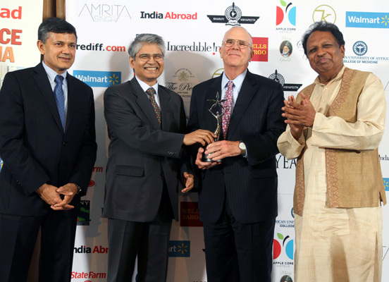India Abroad Friend of India Award 2012