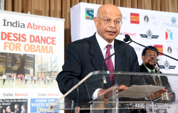 India Abroad Award for Lifetime Achievement 2012