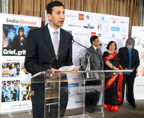 India Abroad Face of the Future Award 2012