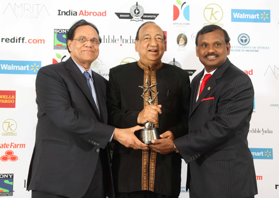 India Abroad Award for Lifetime Service to the Community 2012
