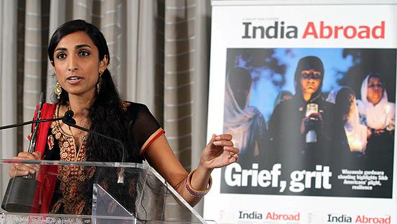 India Abroad Gopal Raju Award for Community Service 2012