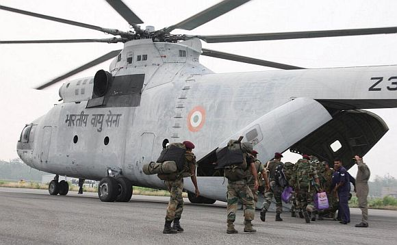 The IAF Mi-26 is the largest, most powerful chopper ever produced
