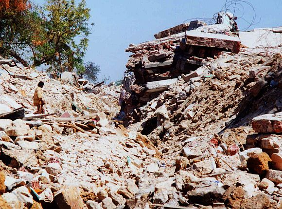 File photo of the devastation in Latur