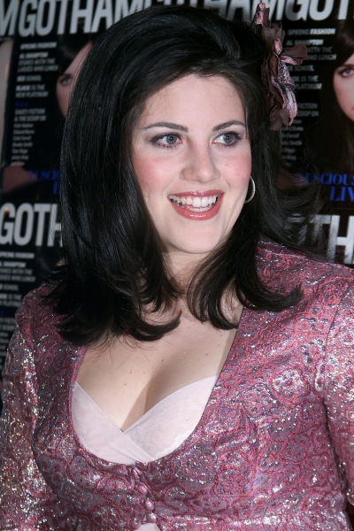 Monica Lewinsky at the launch of a magazine, at Cipriani, West 42nd Street, New York City in March 2001