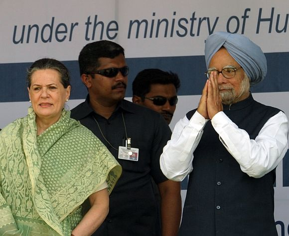 'UPA government gave India the biggest tool to fight corruption'