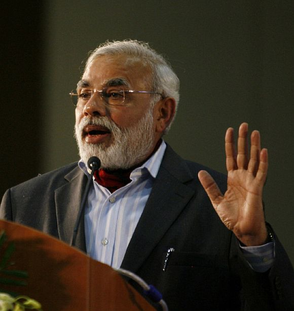 'Modi has peaked; his popularity is on the wane'