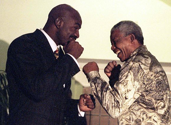 PHOTO ALBUM: the life and times of Mandela