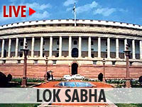 Live streaming of Lok Sabha