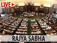 Live streaming of Rajya Sabha