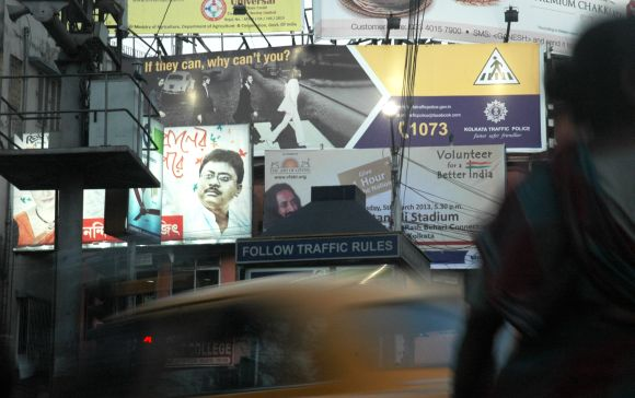 Kolkata traffic police use The Beatles to spread the message of responsible road crossing