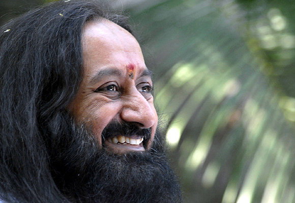 Spiritual guru Sri Sri Ravi Shankar believes change lies in the hands of India