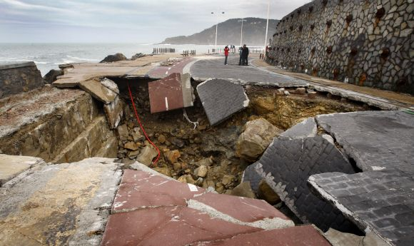 The HOLE story: Meteor crash, ghastly quakes and more