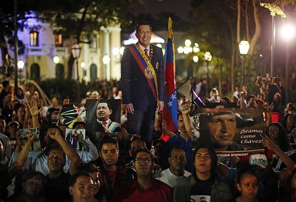 IN PICS: Venezuelans mourn Chavez's death
