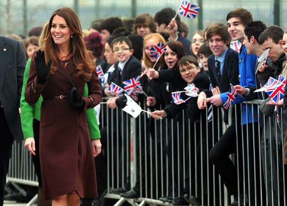 Oops! Pregnant Kate Middleton nearly let it slip
