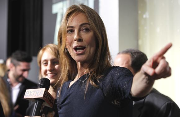 Director and producer Kathryn Bigelow in Hollywood, California