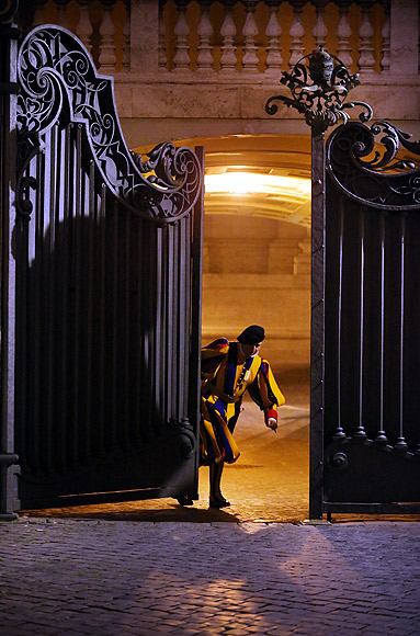 Inside the SECRET chamber of power at the Vatican