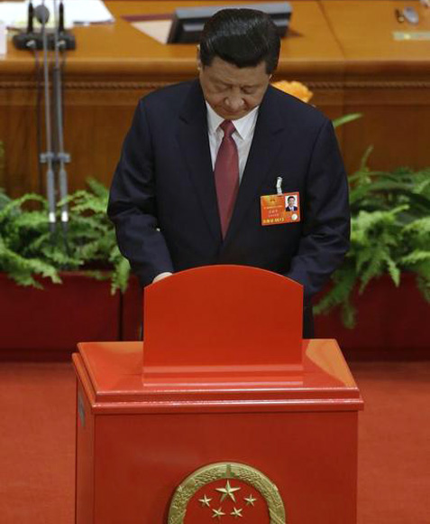 China's newly-elected President Xi Jinping