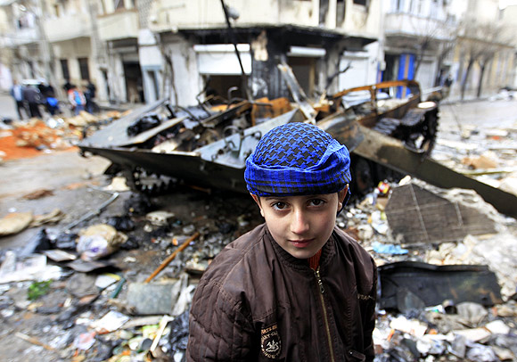 The traumatised children of war-torn Syria