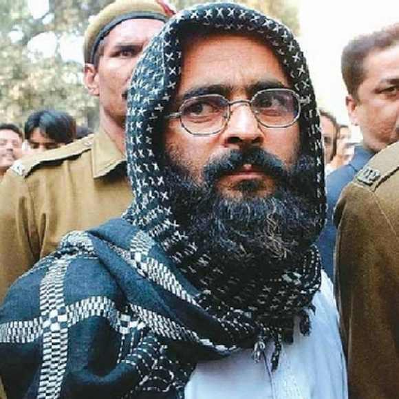 Parliament attack convict Afzal Guru