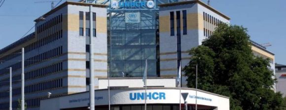 The UNHCR headquarters in Geneva