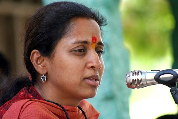 NCP MP Supriya Sule