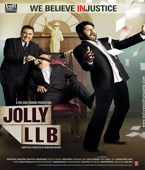 Arshad Warsi plays a lawyer in Jolly LLB.