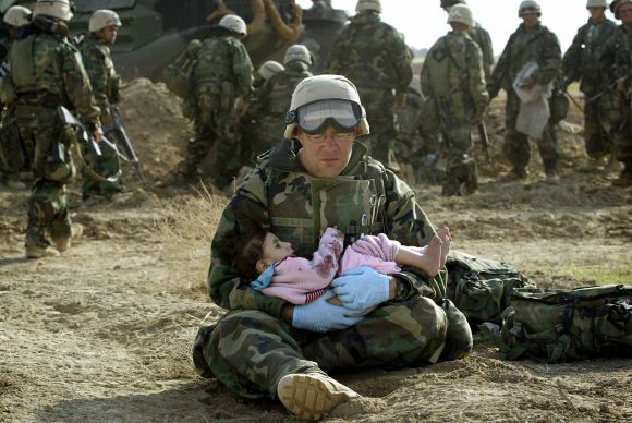 Blood and dust: Chilling stories behind iconic Iraq War photos