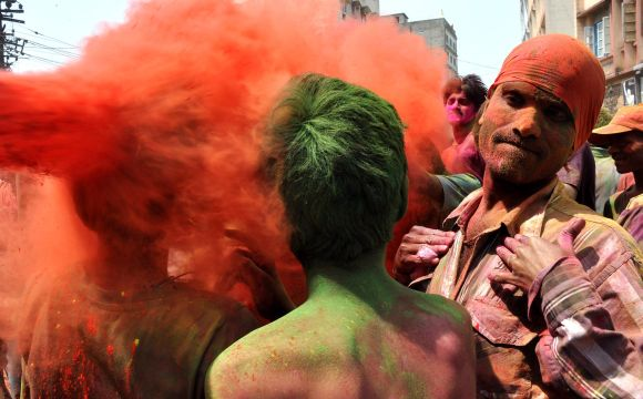 IN PIX: Soaking up the festivity and colours of Holi
