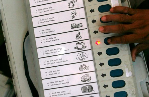 An Electronic Voting Machine.
