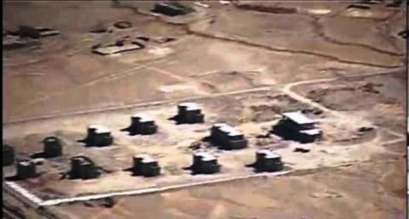 The Chinese camps in question at DBO