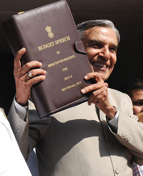 Railway Minister Pawan Kumar Bansal