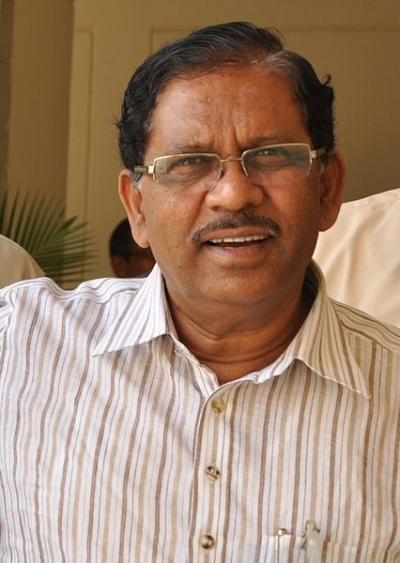 Congress leader G Parameshwara