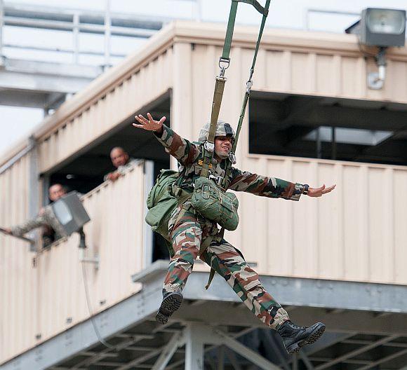 Indian Army's Yudh Abhyas @ Fort Bragg