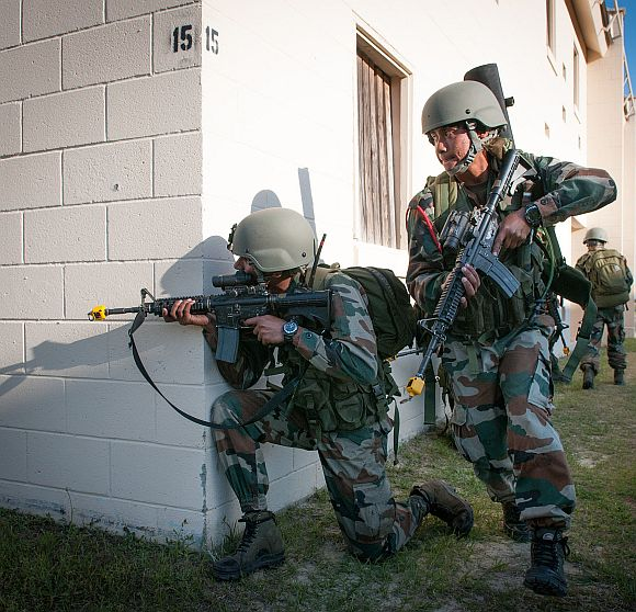 Indian Army terminates insurgents on US soil