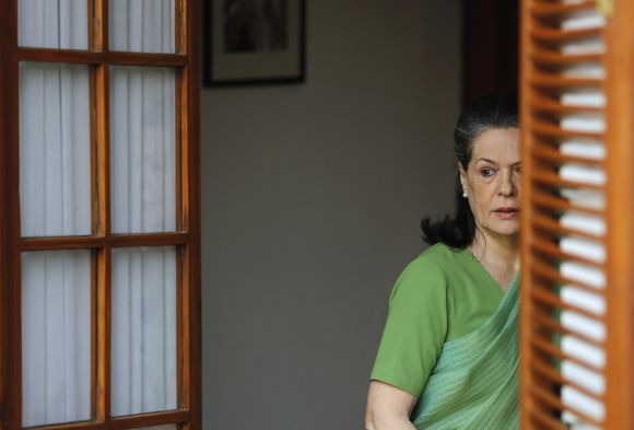 Sonia Gandhi, chief of India's ruling Congress party