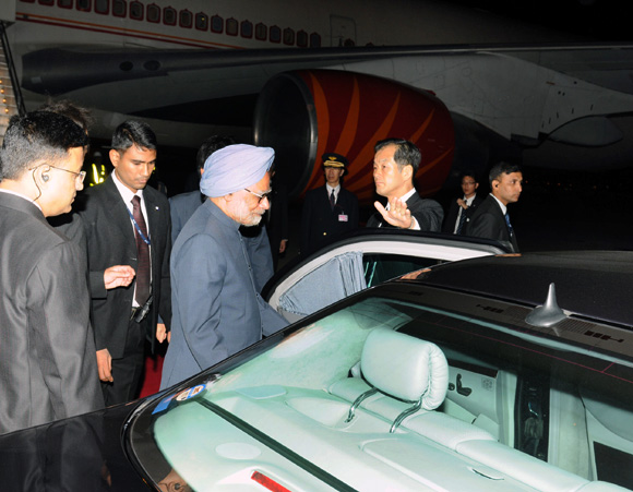 PM arrives in Japan for three-day visit